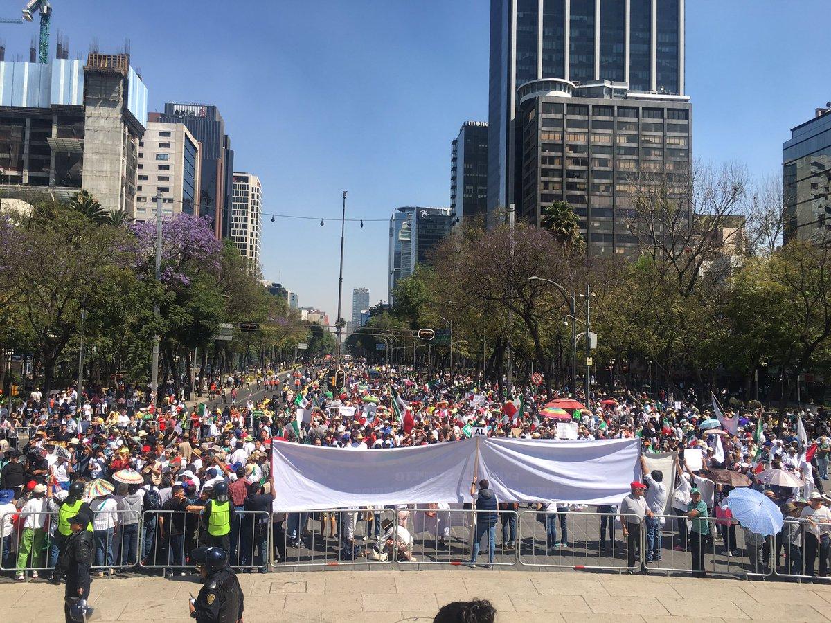Marchas para hoy viernes 10 de mayo 2019 en la CDMX. Noticias en tiempo real