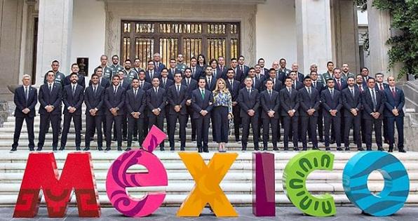 Polémica fiesta de la Selección Mexicana- Fuente: Instagram @miseleccionmx