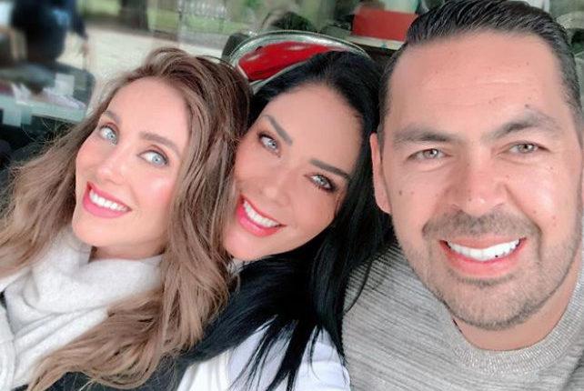 Marichelo y Anahí / Fuente: Instagram @anahi