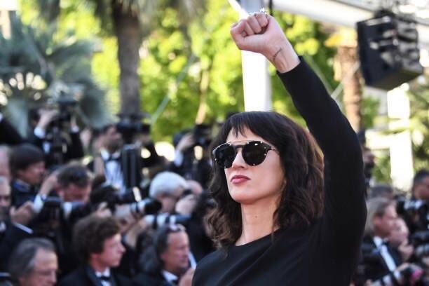 Asia argento pionera del movimiento metoo acusada de abuso sexual