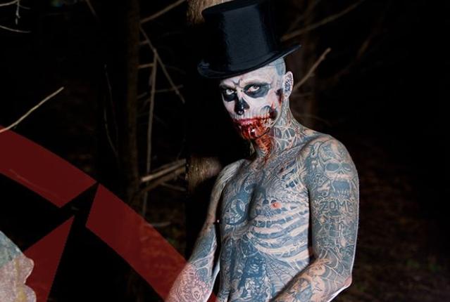 Mujer zombie, Zombie Boy / Fuente: Instagram @zombieboyofficial