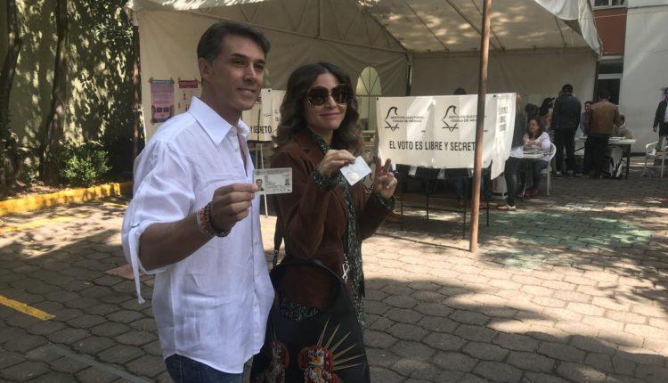 Sergio Mayer Issabela Camil toma de protesta como diputado