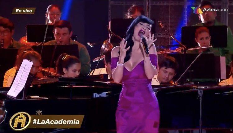 Susana Zabaleta la academia