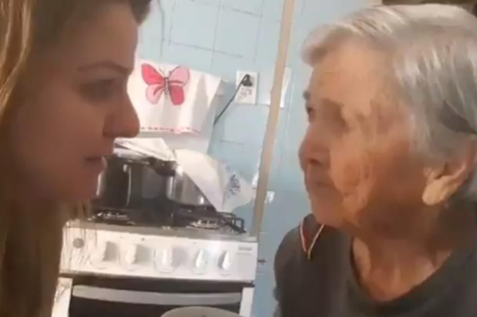 ¡Conmovedor! Abuela con Alzheimer reconoce por un instante a su nieta. Noticias en tiempo real