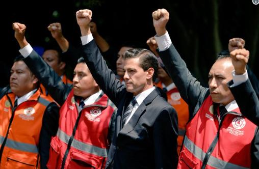 Provoca indignación actitud de Peña Nieto al burlarse de víctimas del 19-S. Noticias en tiempo real