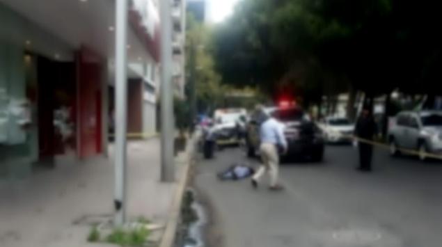 guardaespaldas mata a ladrón / Fuente: Twitter @ciemergencias