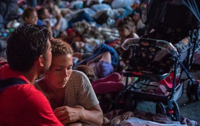 violan a migrantes hondureñas /Fuente: Instagram @apoyando_migrantes