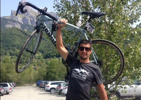 ciclista Marc Sutton/ Fuente: Facebook @Marc Sutton