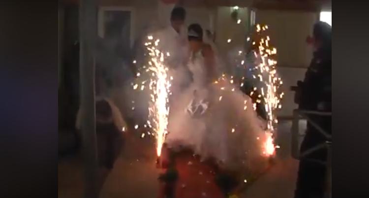 boda de risa / Fuente: Facebook @Augusto Espinel Jasbón