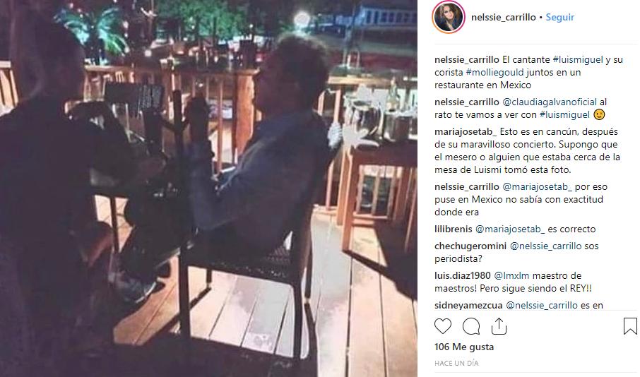 Luis Miguel y su nueva novia
