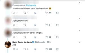 yuya la youtuber del maquillaje rechaza invitacion a salir con el babo de cartel de santa en twitter y los usuarios lo apoyan fotos