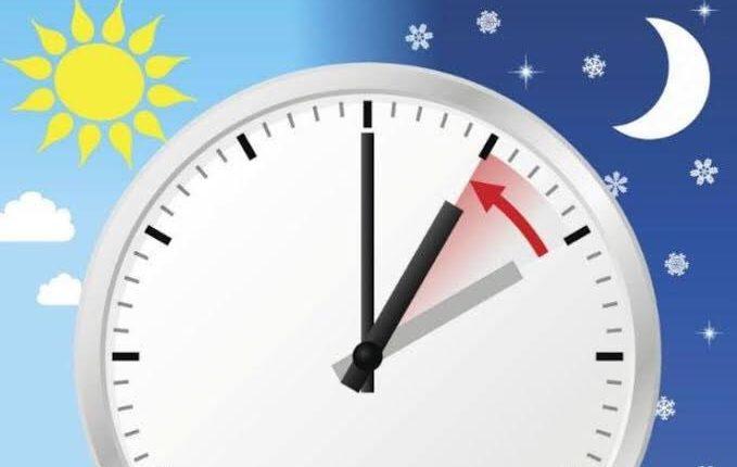 cambio de horario de verano