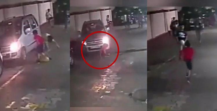 niño es atropellado / Fuente: Facebook @Dorsal 10 - El Noticiero del Hincha