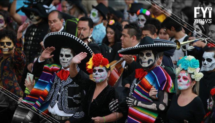 dia de muertos desfile