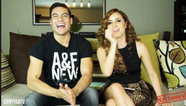 Cynthia Rodríguez le manda romántico mensaje a Carlos Rivera