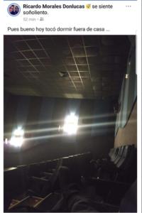 tardo una hora en el baño de un cine cinemex y cuando salió estaba cerrado y vacio