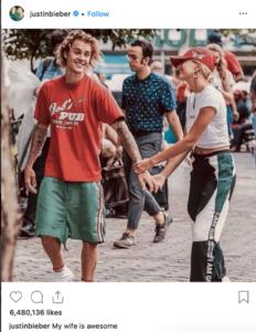 justin bieber y hailey badwin confirman rumores de su boda secreta
