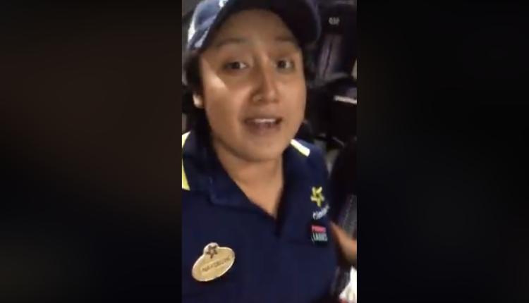 """Empleada de Cinépolis causa furor por video donde pide """"recoger basura"""""""