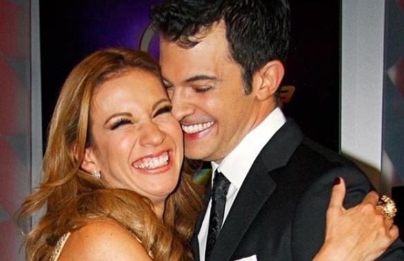 Fernando del Solar con Ingrid Coronado