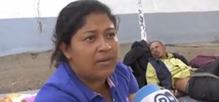 desaparece miriam celaya la migrante hondureña que no queria comer frijoles se quejó de la comida