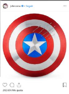 john cena reemplazara a chris Evans y será el nuevo Capitán América
