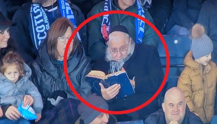 rabino partido futbol