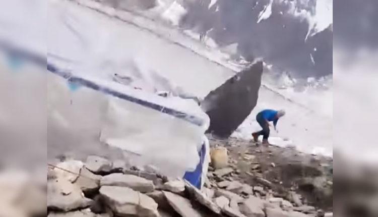 alpinista libra muerte roca