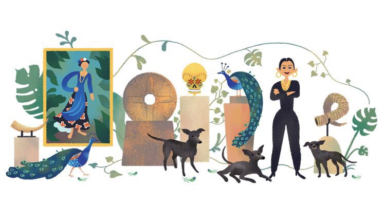 Dolores Olmedo Google doodle
