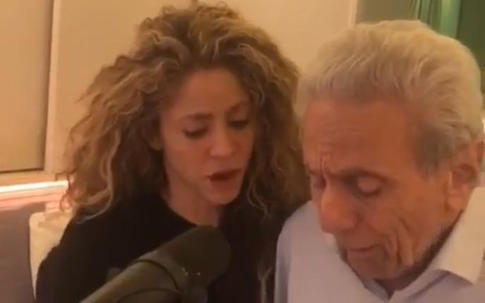 Shakira comparte dueto con el hombre de su vida