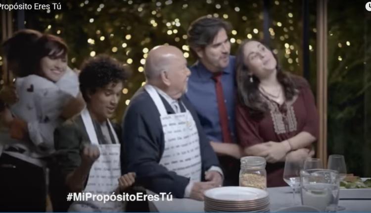 televisa rellena su campaña navideña con personajes de ficcion mi propósito eres tu