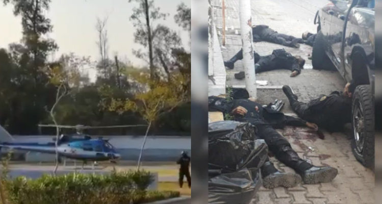 Balacera entre elementos armados y policía en Jalisco deja al menos 6 muertos