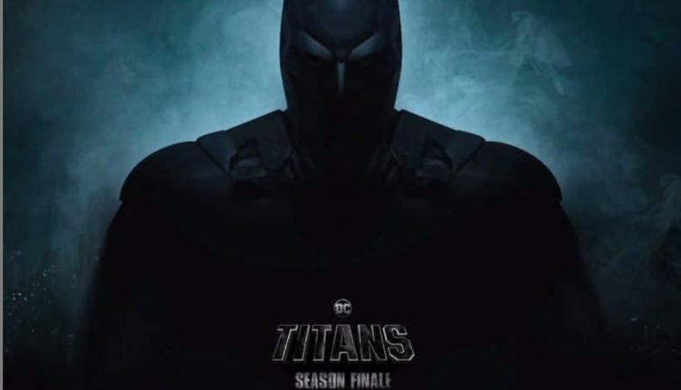 dc titans batman