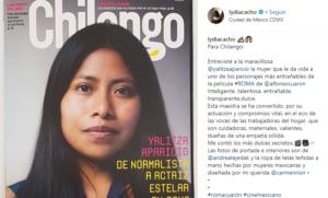 Yalitza Aparicio Chilango