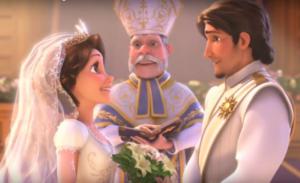 frozen 2 boda de elsa con otra mujer