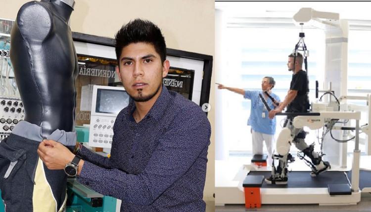 ingeniero de ipn alejandro vivanco lopez diseña pantalón especial para personas parapléjicas