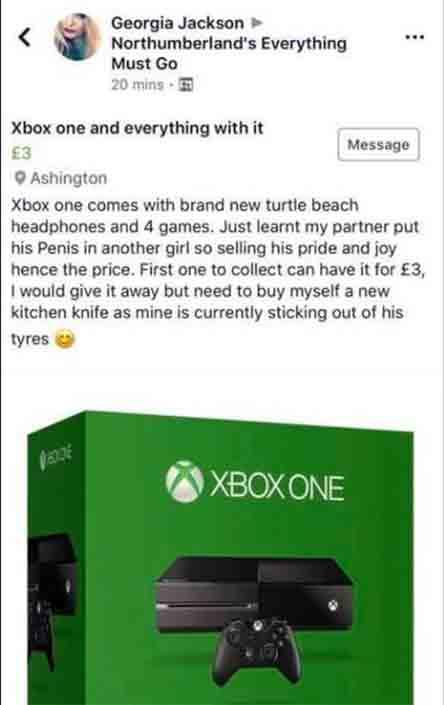 vendio su xbox one