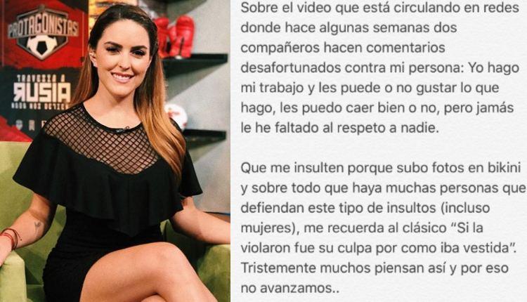 5 comentarios machistas a Patty López tras críticas de Carlos Albert. Noticias en tiempo real