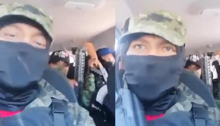 VIDEO: Supuestos sicarios del CJNG amenazan a ladrones de la GAM. Noticias en tiempo real