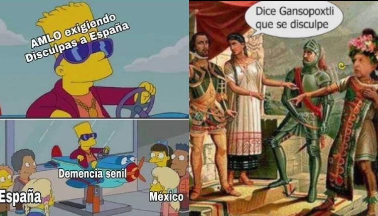 Le llueven memes a AMLO tras exigir disculpa al Rey de España. Noticias en tiempo real
