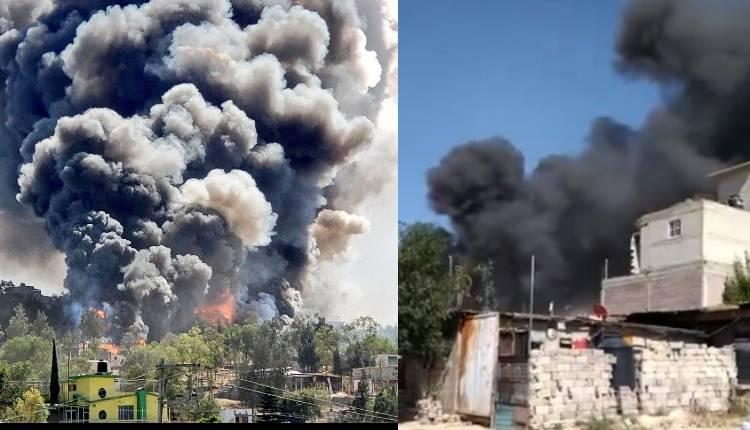 explosión polvorín chilmahuacan edomex