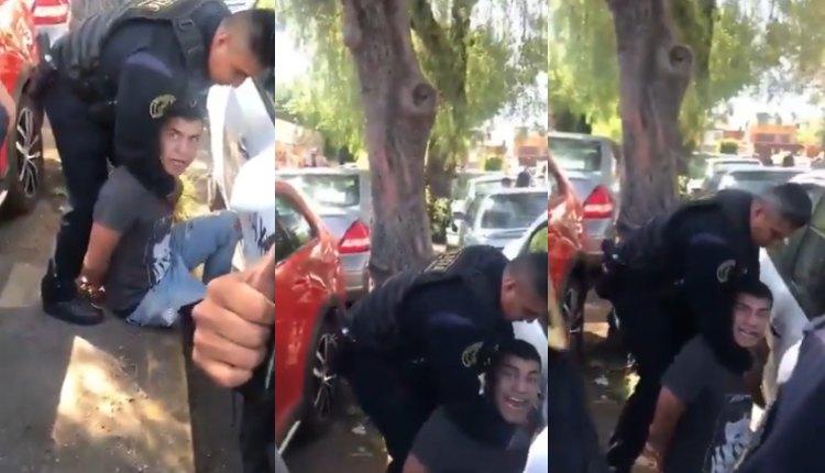 Video: Madre pelea con los policías que detuvieron a su hijo ladrón. Noticias en tiempo real