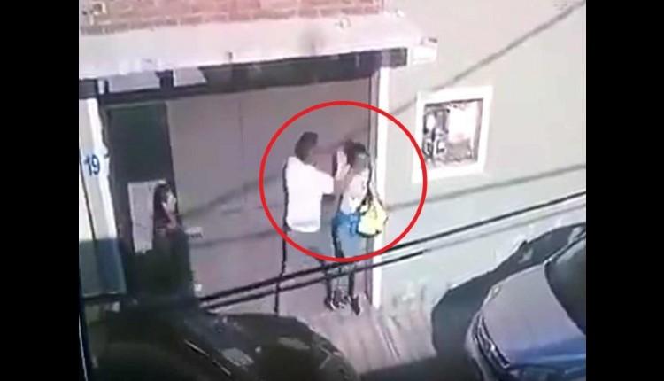 hombre golpea a su esposa iztacalco