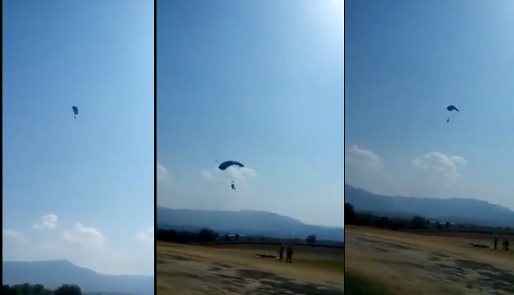 paracaidas tequesquitengo video