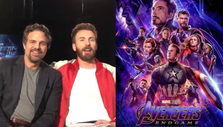 Mark Ruffalo Avengers Endgame