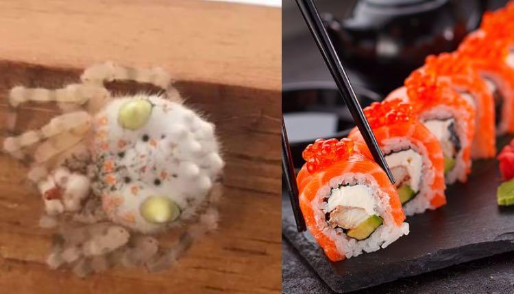 araña sushi