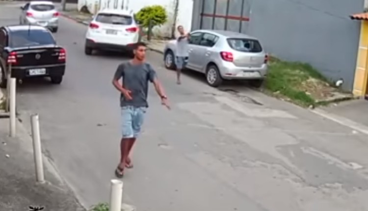 asaltante sin pierna