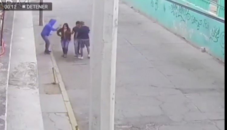 asalto a pareja ecatepecv