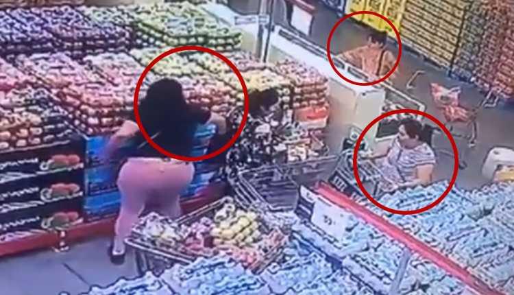 carteristas supermercado