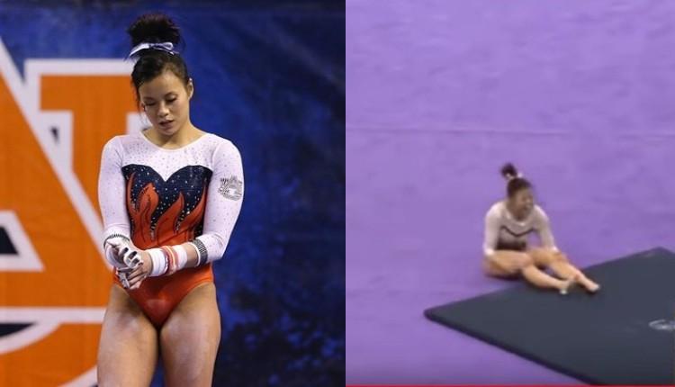gimnasta piernas samatha cerio