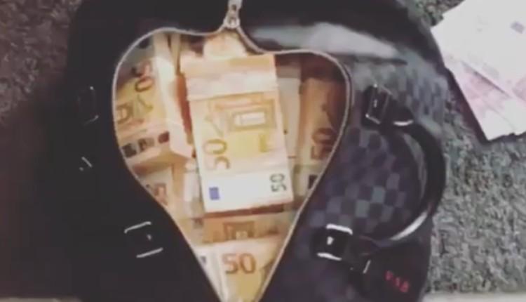 maleta llena de dinero